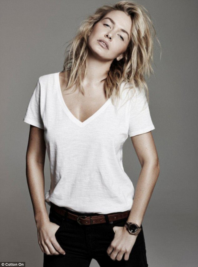 Lara Bingle Pays Homage To Surfer Girl Roots In Cotton On