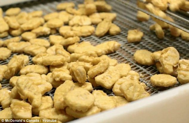 The restaurant chain has also answered questions about the ingredients used in its Chicken McNuggets, and why they include an 'anti-foaming' agent