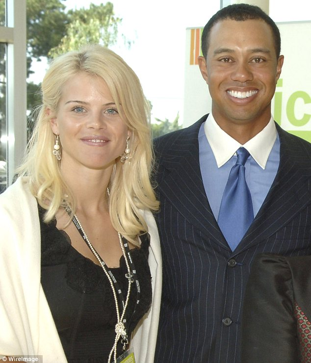 Moving on: Five years after Tiger Woods cheated on her, Elin Nordegren says she has forgiven him and praised him for being a great dad to their two children