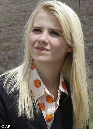 'I'm praying for her': Elizabeth Smart, who was snatched from her bedroom in Salt Lake City in June 2002 by Brian David Mitchell, lent her support to the victim Wednesday