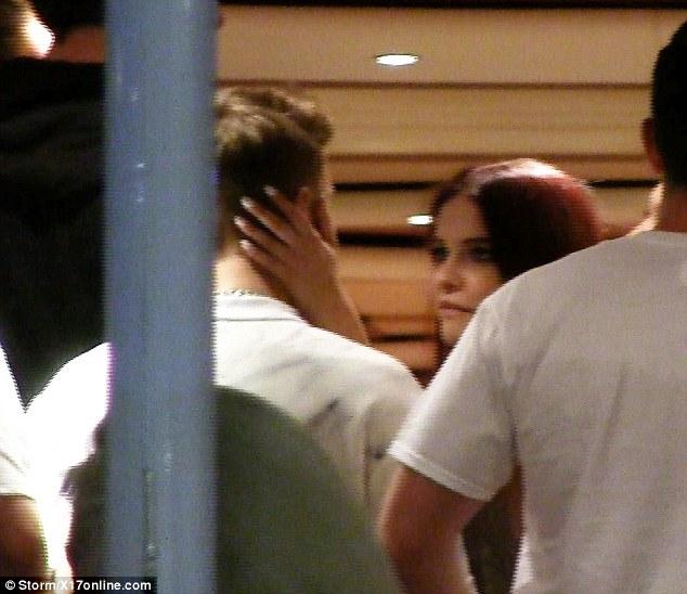 Barbara Palvin Strokes Justin Biebers Face At Cannes