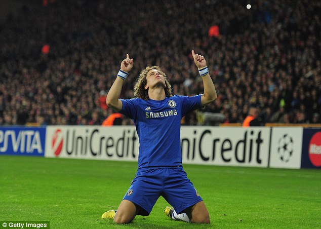 Image result for David Luiz: I thank God every day for Chelsea return