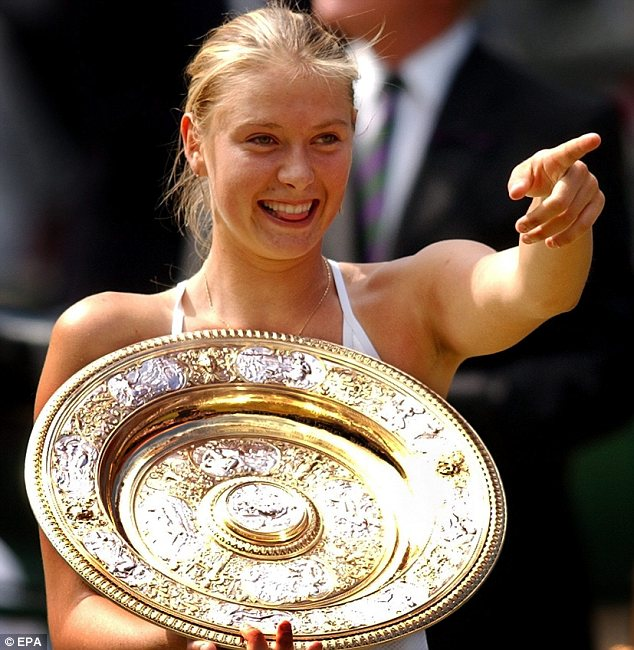 Image result for serena williams vs maria sharapova & Wimbledon 2004