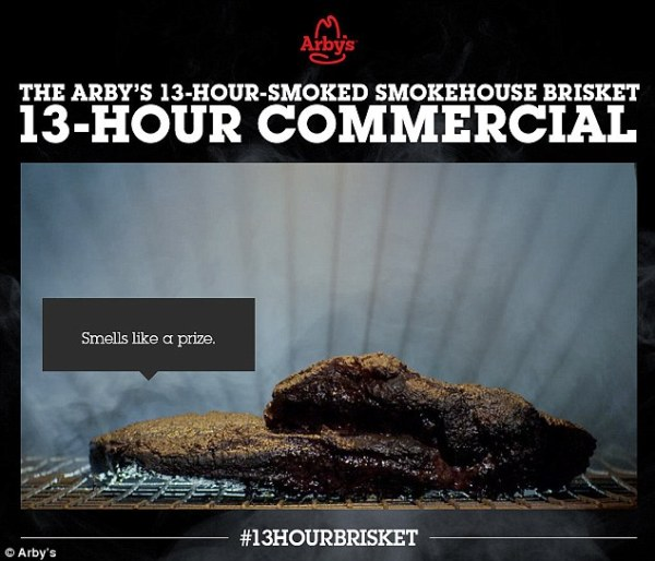 Arby's 13 hour brisket to break longest commercial record ...