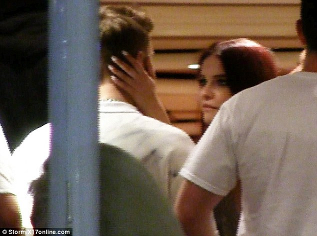 Baby, Baby: Justin was seen with Victoria's Secret model Barbara Palvin in Cannes last week