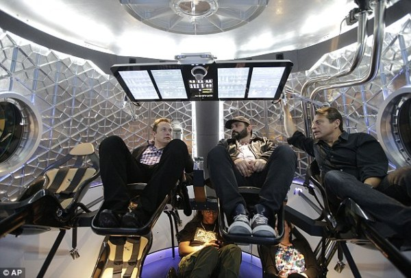 SpaceX founder Elon Musk reveals shuttle that will