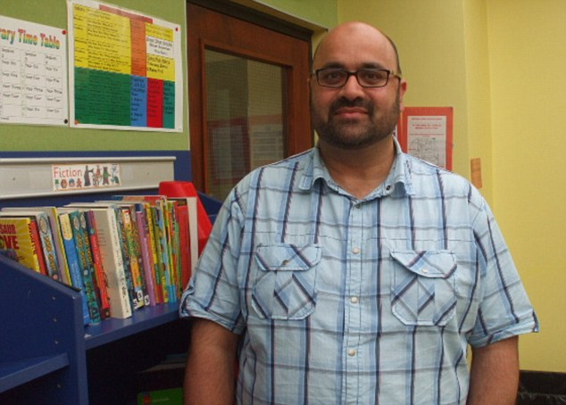 Controversy: Tahir Alam is the alleged mastermind of a plot by Islamic extremists to take over schools. The 45-year-old can be revealed as the author of a controversial 2007 booklet about teaching Muslim pupils