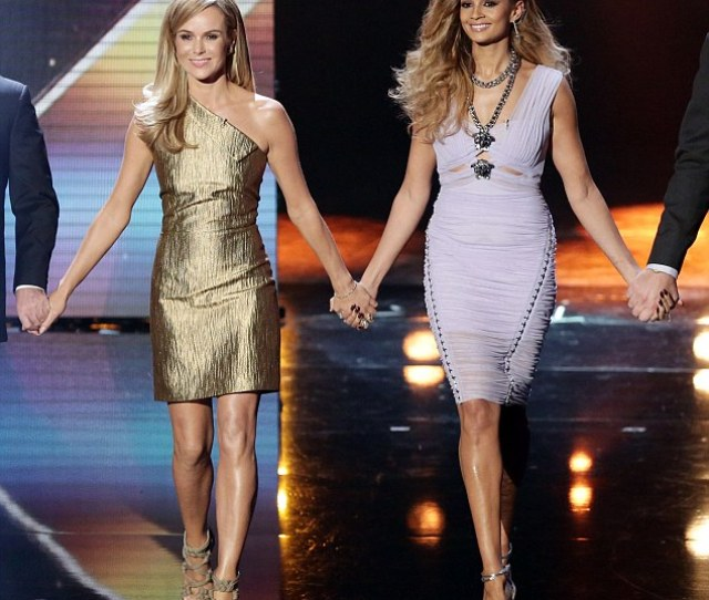 Britains Got Sexy Ladies Amanda Holden And Alesha Dixon Upped The Glam Factor On The