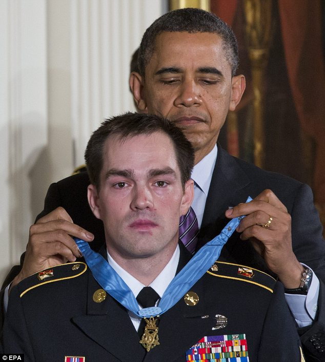 President Barack Obama awarded two Army staff sergeants, including Clinton Romesha, a former active duty Army Staff Sergeant, the Medal of Honor for their bravery in the Battle of Kamdesh, a fight that military sources say cost so many lives because soldiers and aircraft were tasked elsewhere -- hunting for Bowe Bergdahl