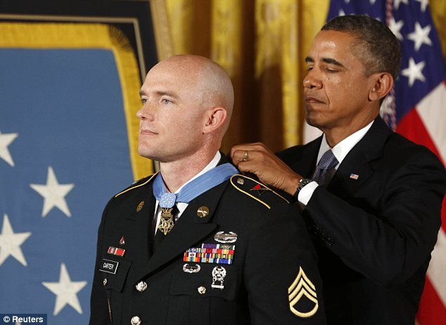 Army Staff Sergeant Ty Carter received his Medal of Honor on August 26, 2013, but may not have had to watch eight of his comrades die in October 2009 if the military's support system weren't strained by the search for Bowe Bergdahl