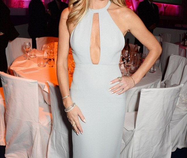 Shes Got Talent Amanda Holden Upped The Sexy Factor In This Gorgeous Gown When She