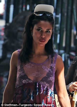 EXCLUSIVE: First shots of V. Stiviano (without her visor down) taken after her alleged assault where she claims to have been attacked by men. V. is shown walking after out shopping at Bloomingdale's in New York City. Her face appears to show no visible signs of an attack. <P> Pictured: V. Stiviano <B>Ref: SPL773186  030614   EXCLUSIVE</B><BR/> Picture by: Steffman-Turgeon / Splash News<BR/> </P><P> <B>Splash News and Pictures</B><BR/> Los Angeles: 310-821-2666<BR/> New York: 212-619-2666<BR/> London: 870-934-2666<BR/> photodesk@splashnews.com<BR/> </P>