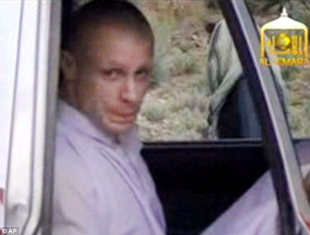 Switch: The Taliban has released a video showing the handover of Sgt Bowe Bergdahl to the American military close to the Afghan border. Bergdahl can be seen in the back of a white pickup truck