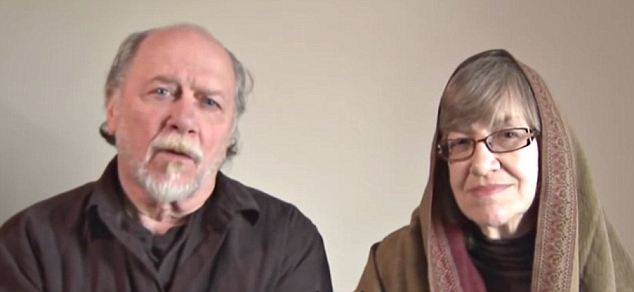 Desperate: James and Lynn Coleman, the parents of Caitlin Coleman, have made repeated YouTube appeals for their daughter's safe return