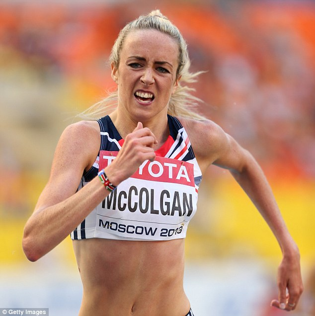 Determined: McColgan believes she can get back on track after a suffering bouts of illness ahead of Glasgow 2014