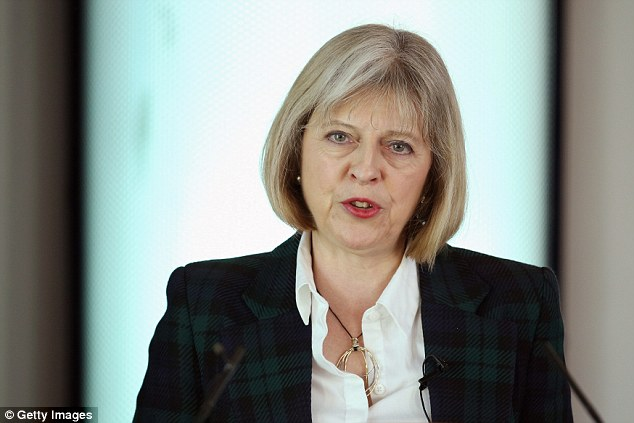 Home Secretary Theresa May tonight launched an impassioned defence of the security services and warned the threat faced by Britain was serious