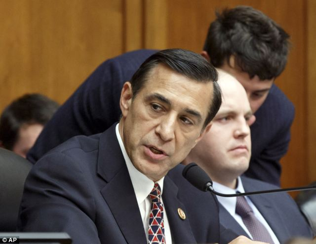 Rep. Darrell Issa slammed IRS Commissioner John Koskinen: 'We have a problem with you, and you have a problem maintaining your credibility'