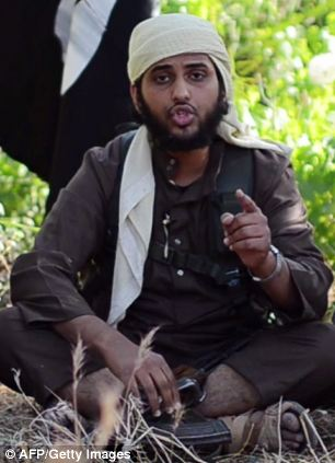 Abu Muthanna al-Yemeni, believed to be Nasser Muthana, a 20-year-old man from Cardiff, Wales, speaking in an online video