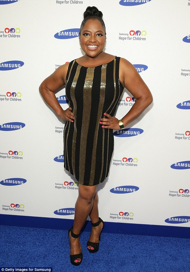 Not the only one: Co-star Sherri Shepard's contract also was not renewed after seven years with the talk show