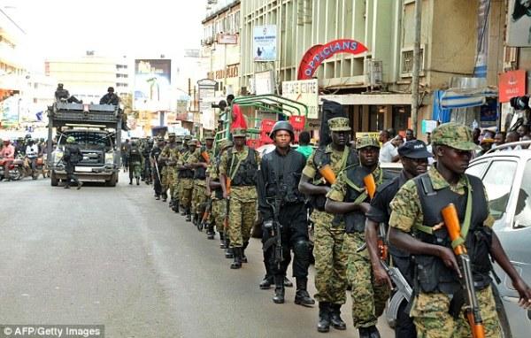 Uganda's Entebbe international airport under major terror ...