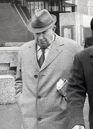 Sir Peter Hayman in Reading where he appeared in court charged with a sex offence