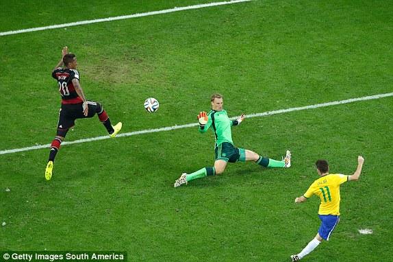 Image result for oscar goal vs germany