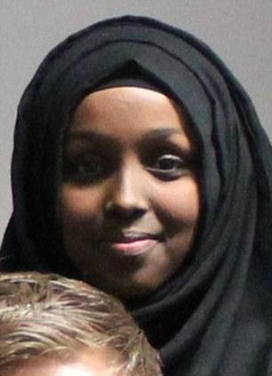 Aspirational: Friends said Salma Halane wanted to be a doctor