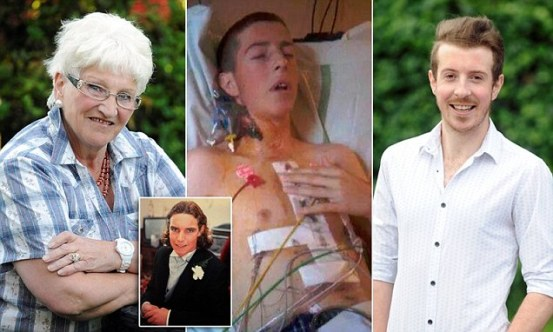Freda Carter, 66, from Sunderland, Tyne and Wear, was told her son John's heart had gone to a teenager called Scott, but had no idea where he lived, or who he was.