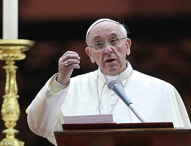 Pope Francis has revealed that one in every fifty Catholic priests is a paedophile, it has been reported