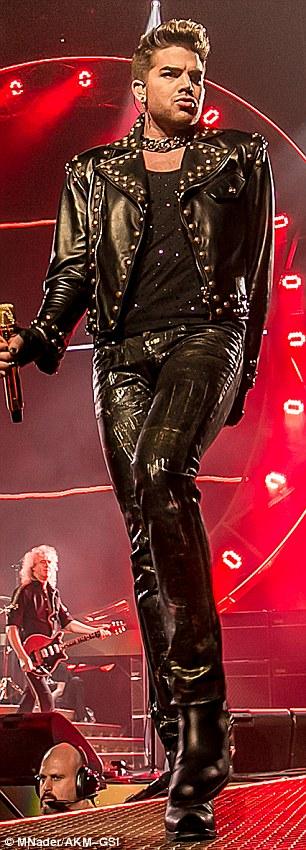 Adam Lambert Channels Freddie Mercury In A Flamboyant
