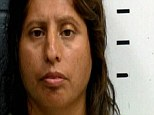 Grave charges: Magdo Haro, 40, from New Mexico, is accused of forcing her daughter to undress and touch herself, threatening to violate her with a stick and hitting her with a shoe for being gay