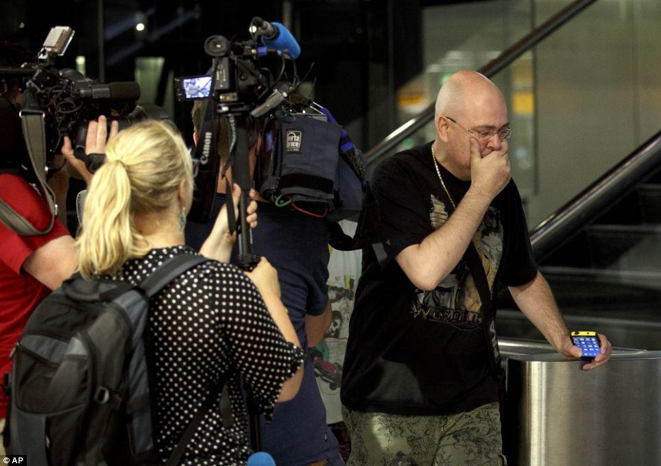 Malaysia Airlines Passenger Plane MH17 Shot Down in Ukraine near Russian border