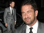 Suit you sir! Suave Gerard Butler is dressed to impress as he gets ready to party at the Chiltern Firehouse