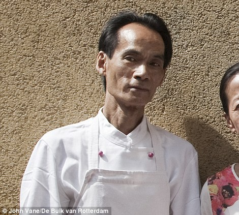 Travelling: Fan Shun-Po, a chef in an Asian restaurant, was on board