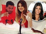 That's not the mother of your children! Scott Disick takes a bubble bath with girlfriend's sister Khloe Kardashian as he calls her his 'lady'