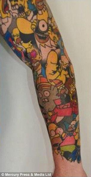Sullivan Stapleton Tattoos