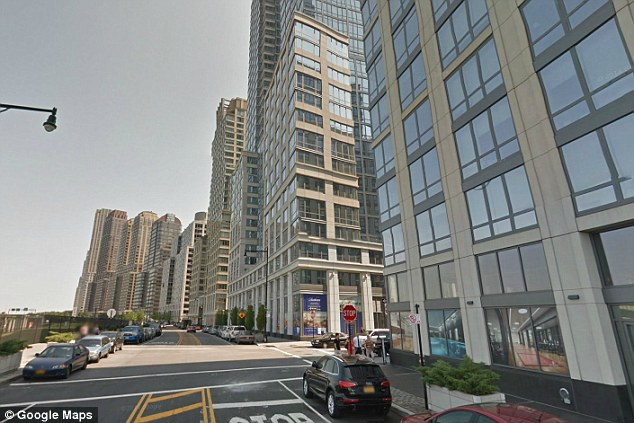 A view of the high-rises lining Riverside Boulevard, in New York. The city has approved an application by prominent developer Extell to install a 'poor door', or a separate door for tenants living in affordable housing to enter the building through
