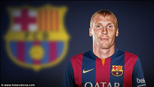 Arrival Jeremy Mathieu Has Completed His Move To Barcelona From Valencia