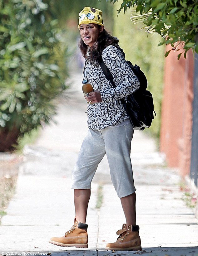 Michelle Rodriguez Steps Out Without Zac Efron Wearing