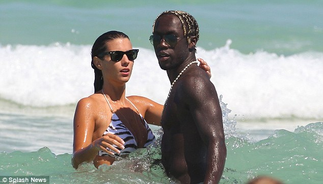 Image result for Bacary Sagna and wife Ludivine