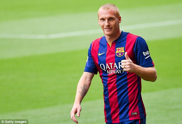 Jeremy Mathieu Has Described Barcelona As The Best Club In The World