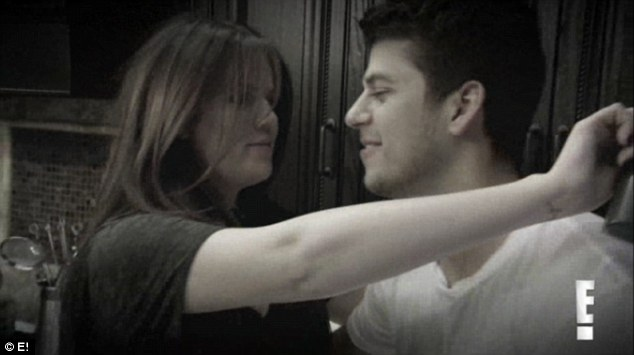 Special bond: Flashback footage showed Khloe and Rob in an episode from several years ago to highlight their close sibling bond