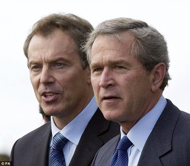 The largely untold story of the persecuted Iraqi Christian minority is especially shaming for those avowedly Christian leaders, George W. Bush (right) and Tony Blair (left), who were responsible for the invasion of Iraq