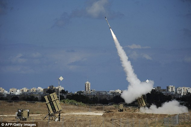 An Israeli Iron Dome operator is claiming he witnessed the hand of God' diverting an incoming Hamas rocket into the sea