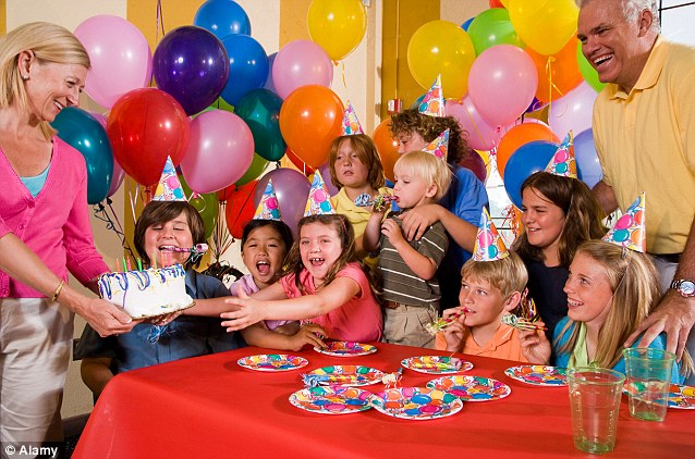 Competitive Parents Send Cost Of Childrens Birthday Bashes