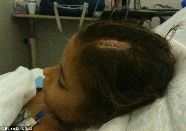 Eloise fue diagnosticado con un tumor cerebral glioblastoma a principios de mayo de 2010
