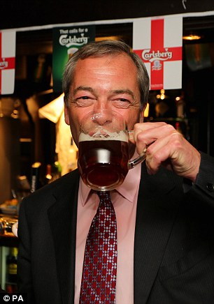 Under fire: Ministers are calling on Nigel Farage to respond to the latest in a number of un-PC controversies that have marred his party