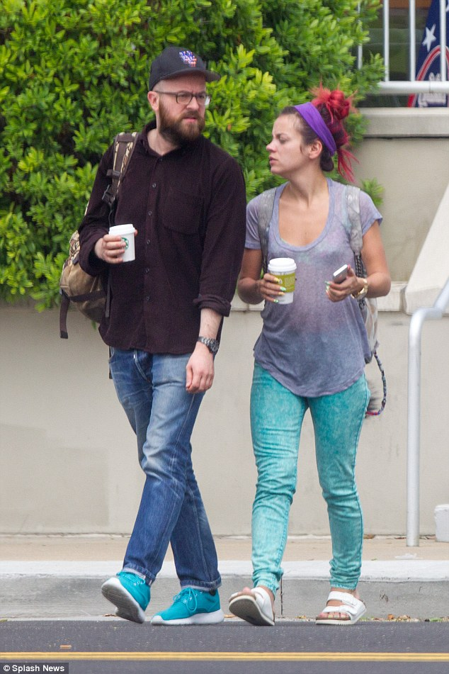 Lily Allen Seen WITHOUT Her Wedding Ring With Ex Boyfriend