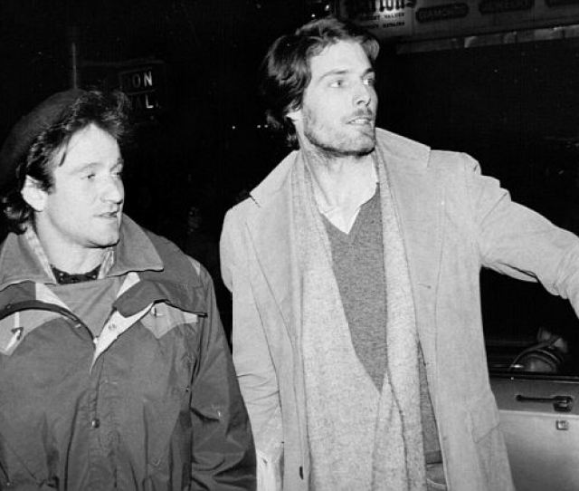 Thick And Thin Williams And Christopher Reeve Became Friends At Julliard And Remained Close For