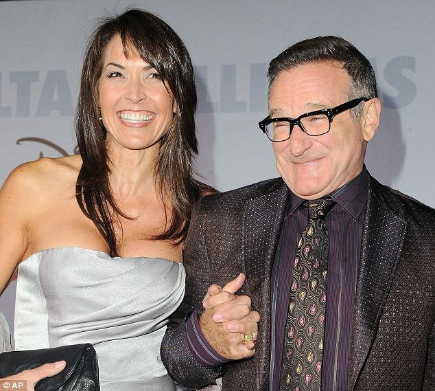 Robin Williams married his third wife, now widow, Susan Schneider in 2011